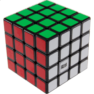 Aosu 4x4x4 - Black Body for Speed-cubing