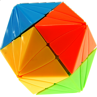 Evil Eye I (Close-eye) Dodecahedron - Stickerless