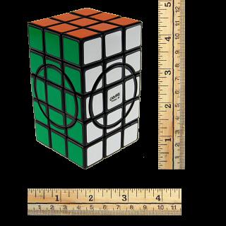 3x3x5 Semi-Super Cuboid (adjacent circles) - Black Body