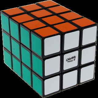 3x3x4 Cuboid with Tony Fisher logo - Black Body