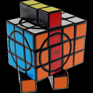 3x3x5 Super L-Cube with Evgeniy logo - Black Body