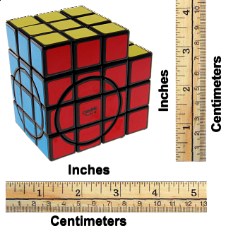 3x3x5 Super L-Cube with Evgeniy logo - Black Body