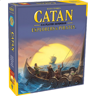 Catan: Explorers and Pirates - 5-6 Player Extension