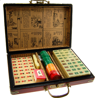 Mah Jong - Oriental Antique