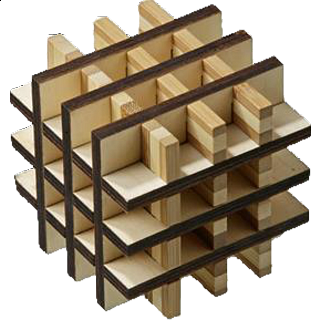 Puzzle Solution for Grid Cube