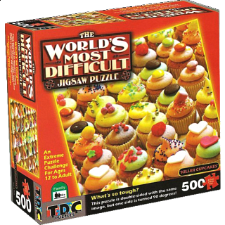 World's Most Difficult - Killer Cupcakes