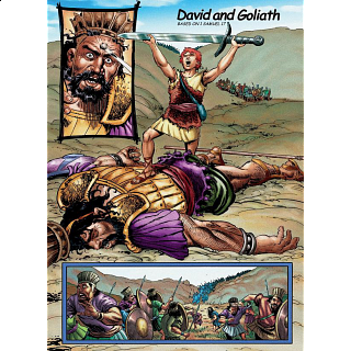 The Action Bible Jigsaw - David and Goliath
