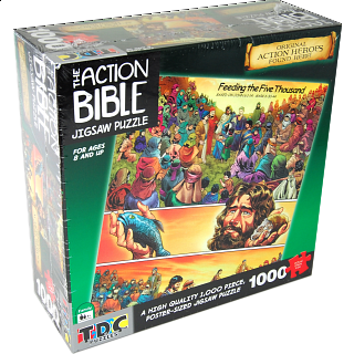 The Action Bible Jigsaw - Feeding the Five Thousand