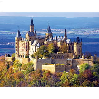 Buffalo Games Majestic Castle, Hohenzollern Castle - 750pc
