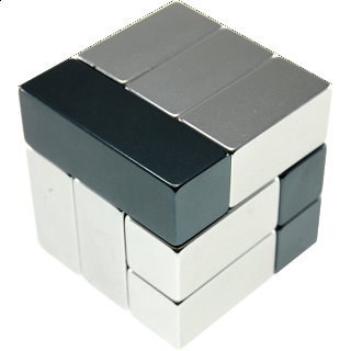 Metal Art: i-Cube - Grey