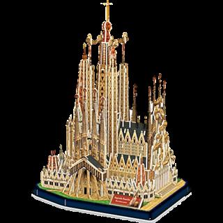 Sagrada Família - 3D Jigsaw Puzzle