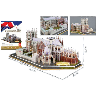 Westminster Abbey - 3D Jigsaw Puzzle