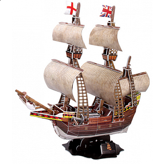 Mayflower - 3D Jigsaw Puzzle