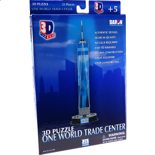 One World Trade Center - 3D Jigsaw Puzzle