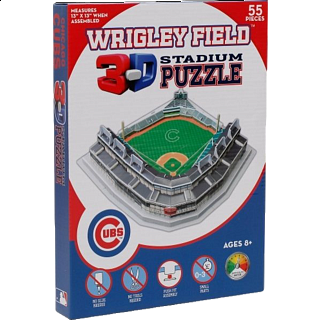 Wrigley Field - 3D Stadium Puzzle