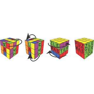 4 Cubes - Black - T-Shirt