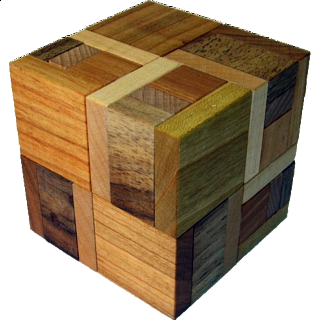 Puzzle Solution for Hooked Cube