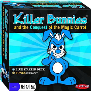 Killer Bunnies Conquest  - Blue Starter Deck
