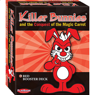 Killer Bunnies Conquest - Red Booster Deck