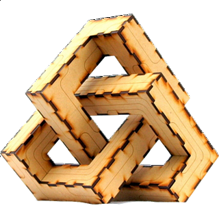 Puzzle Solution for Trefoil Knot 3D Puzzle