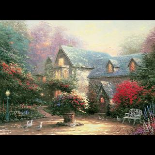 Thomas Kinkade - The Blessings of Spring