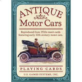 Playing Cards - Antique Motor Cars