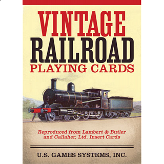 Playing Cards - Vintage Railroad