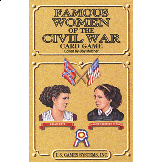 Famous Women of the Civil War - Card Game Deck