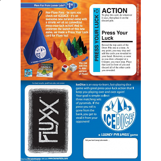 Fluxx: Press Your Luck - Expansion Card