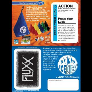 Fluxx: Press Your Luck - Expansion Card