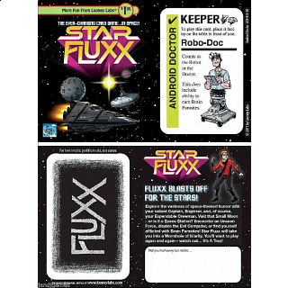 Star Fluxx: Android Doctor - Expansion Card