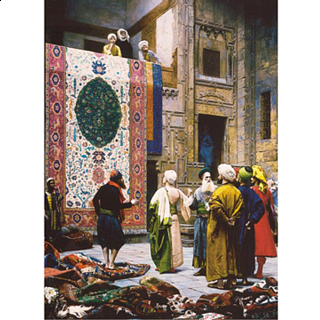 Perre: Carpet Seller - Jigsaw Puzzle