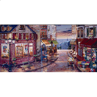 Twilight View - Jigsaw Puzzle
