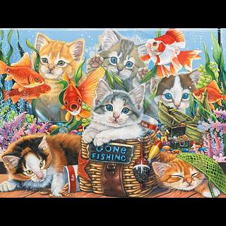 Gone Fishing - Jigsaw Puzzle