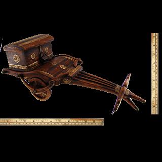 Ox Cart Puzzle Box