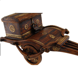 Ox Cart Puzzle Box