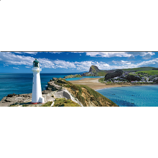 Panorama: New Zealand Lighthouse