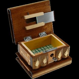 Romanian Puzzle Box - Medium - Brown