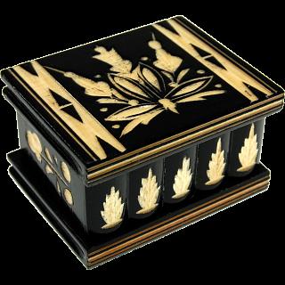 Puzzle Solution for Romanian Puzzle Box - Small Black