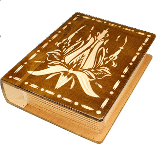 Romanian Secret Book Box - Brown