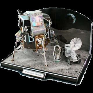Apollo Lunar Module - 3D Jigsaw Puzzle