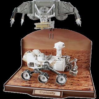 Curiosity Rover - 3D Jigsaw Puzzle