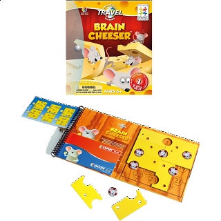 Magnetic Travel Games - Brain Cheeser