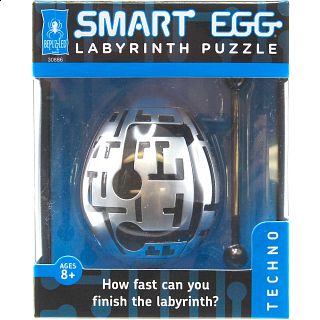 Smart Egg Labyrinth Puzzle - Techno