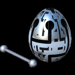 Smart Egg Labyrinth Puzzle - Techno