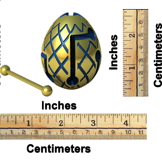 Smart Egg Labyrinth Puzzle - Jester