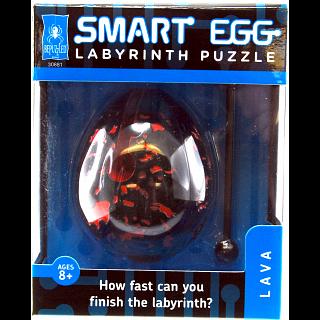 Smart Egg Labyrinth Puzzle - Lava