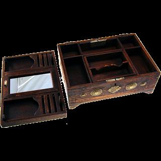 Wooden Puzzle Jewelry Box - Teak