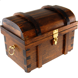 Puzzle Solution for Wooden Treasure Chest - Style B