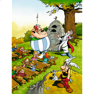 Asterix: Obelix at School